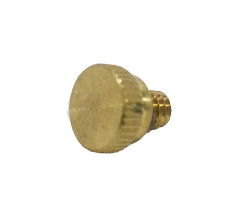 Brass Nickel Plated Nozzle Plug 10/24 Thread (Pack of 5)