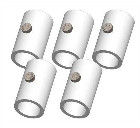 Mistcooling Pvc Misting Tee With Nozzle (5 Pack)